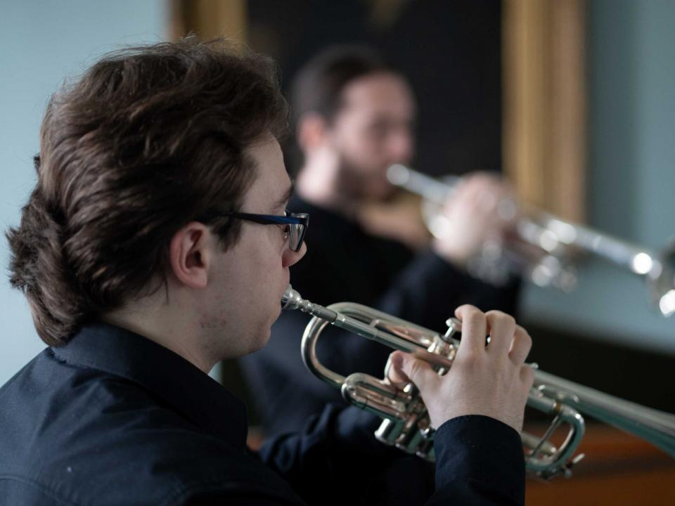 RIAM trumpet students perform in ChamberFest Dublin 2019
